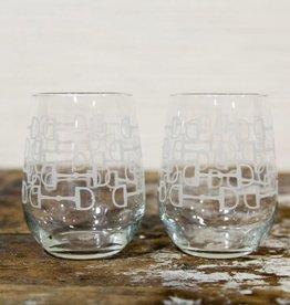Snaffle Bit Wine Glass