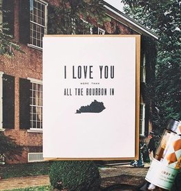 Kentucky Bourbon Greeting Card