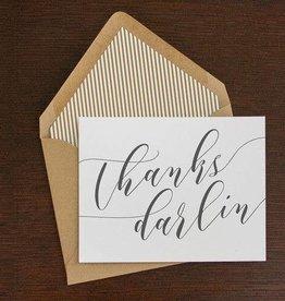 Thanks Darlin Folding Note Set