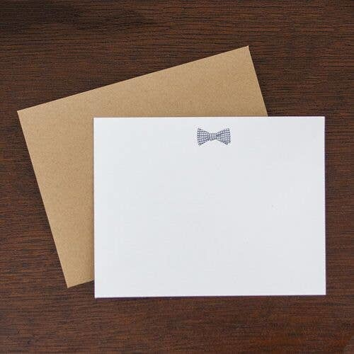 Bowtie Flat Stationary Note