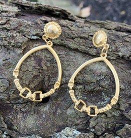 Bit Drop Earrings