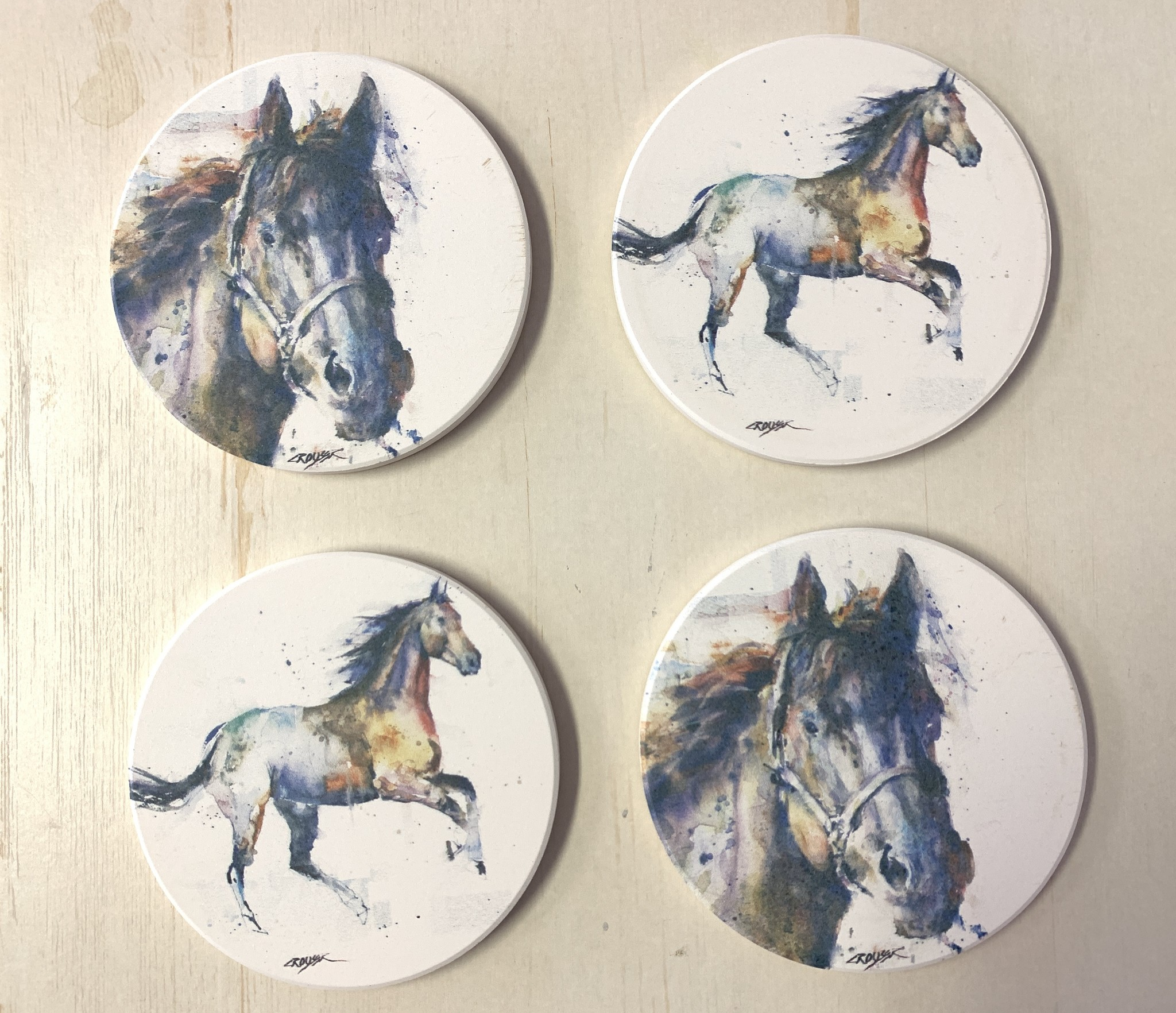 Horse Coaster Set of 4