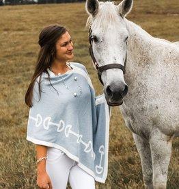 Eco Horse Bit Poncho