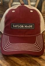 Taylor Made Trucker Hat Maroon