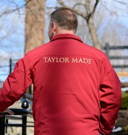aps Communications Taylor Made Mens Red Jacket