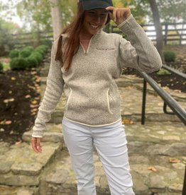 Taylor Made Quarter Zip Pullover - Ladies