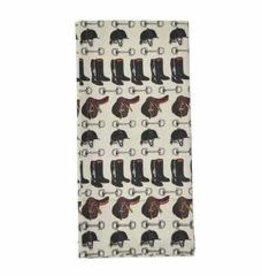 Pomegranate Tack Room Tea Towel