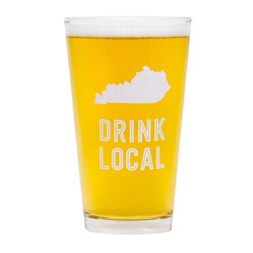 State of Kentucky Pint Glass