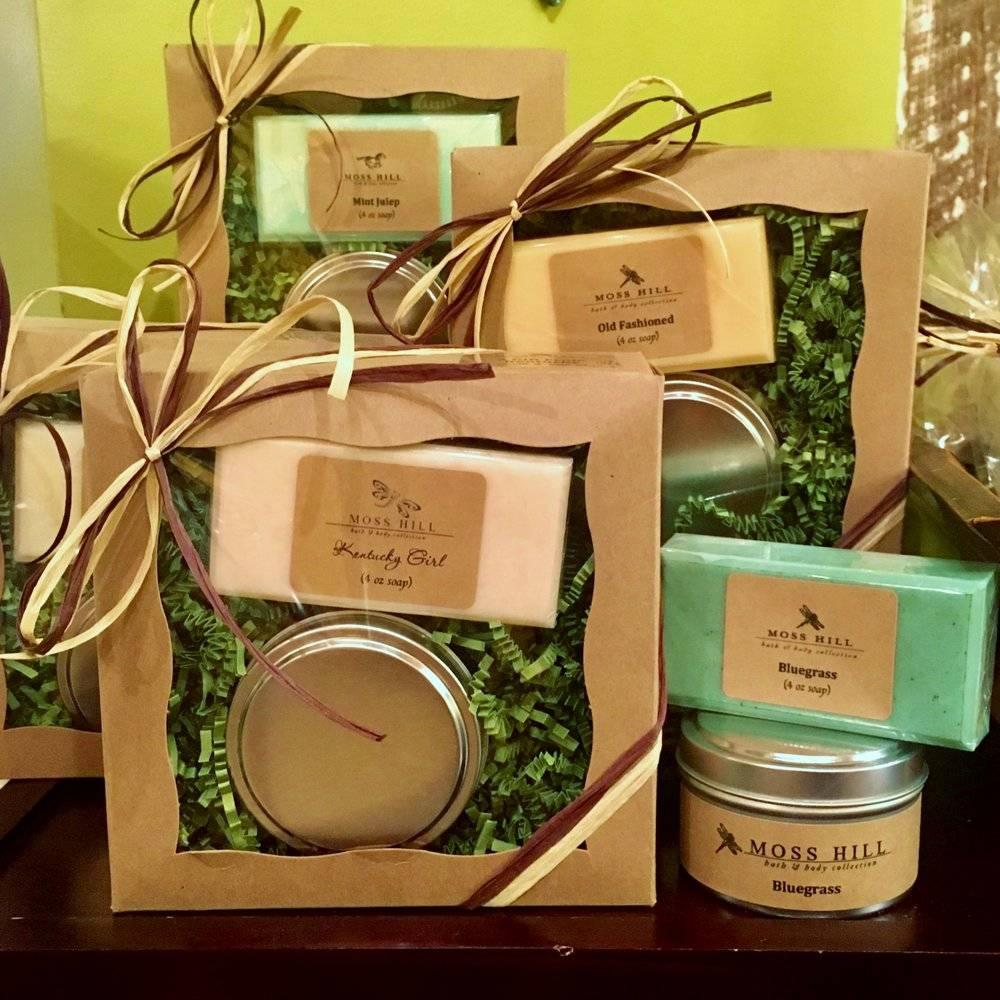 Moss Hill Bath & Body Bluegrass Gift Set