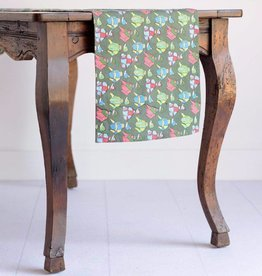 Pomegranate Vintage Racing Silks Table Runner