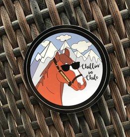 Chillin' In Chile Sticker