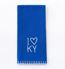 Pomegranate I Heart KY Towel