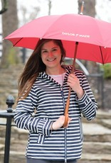 Striped Rain Coat