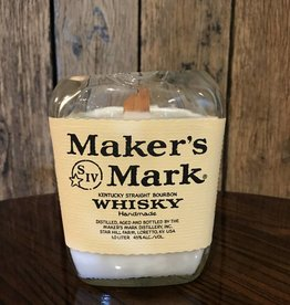 Maker's Mark Bottle Candle