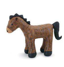 Leather Horse Door Stop