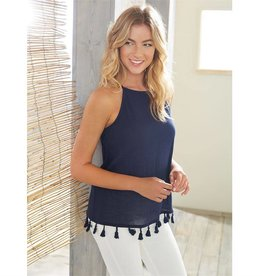 Georgia Tassel Top