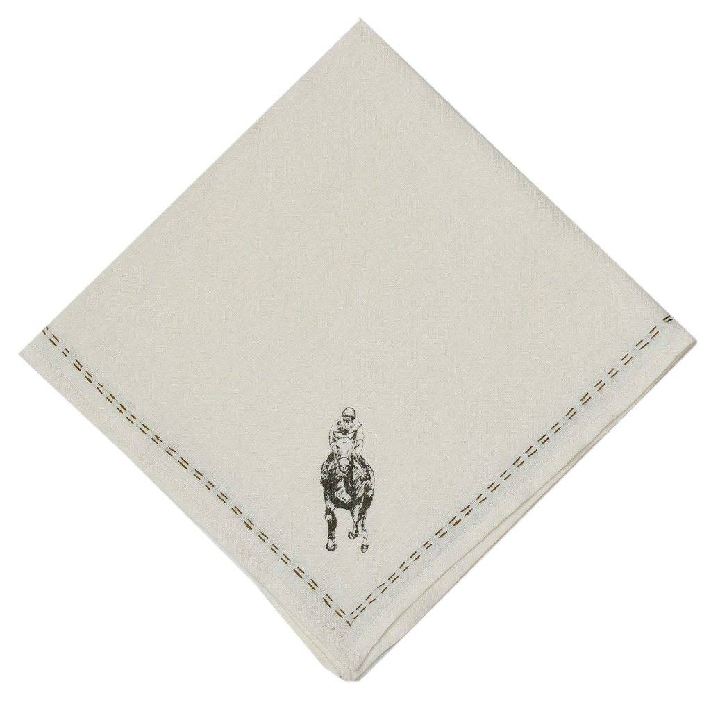 Pomegranate Man o' War Linen Napkins (Set of 4)