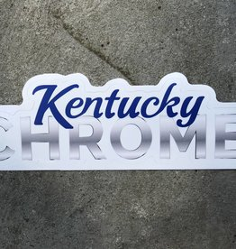 Kentucky Chrome Sticker