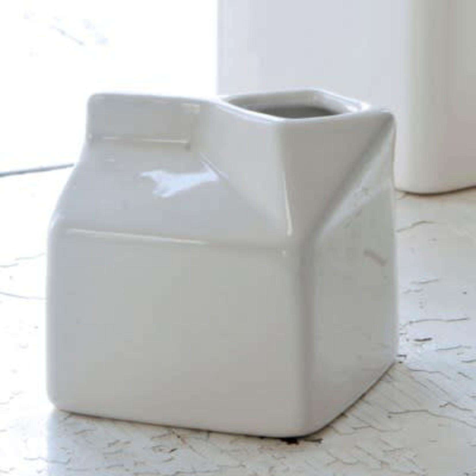 Creamware Half Pint Carton LC003