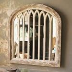 Wood Framed Arch Mirror
