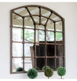 Mirrors Arched Iron Mirror