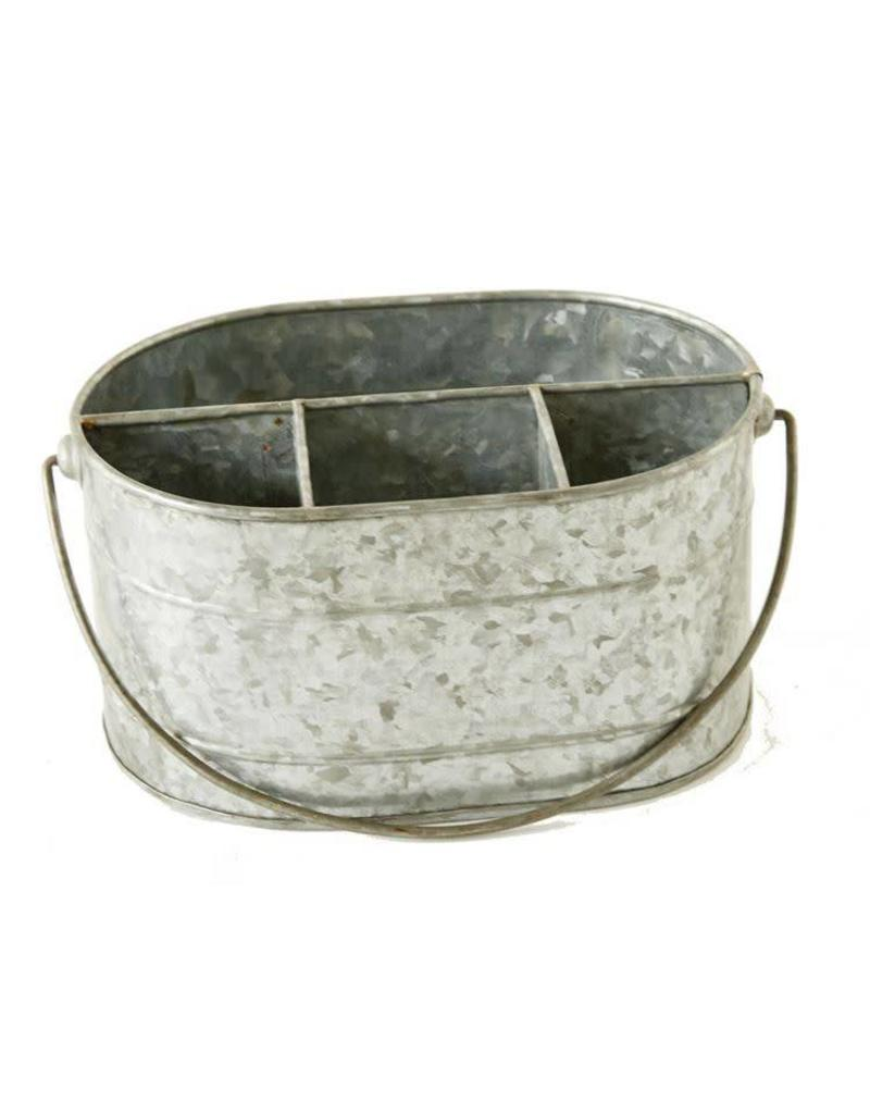 Galvanized Metal Caddy DA6577