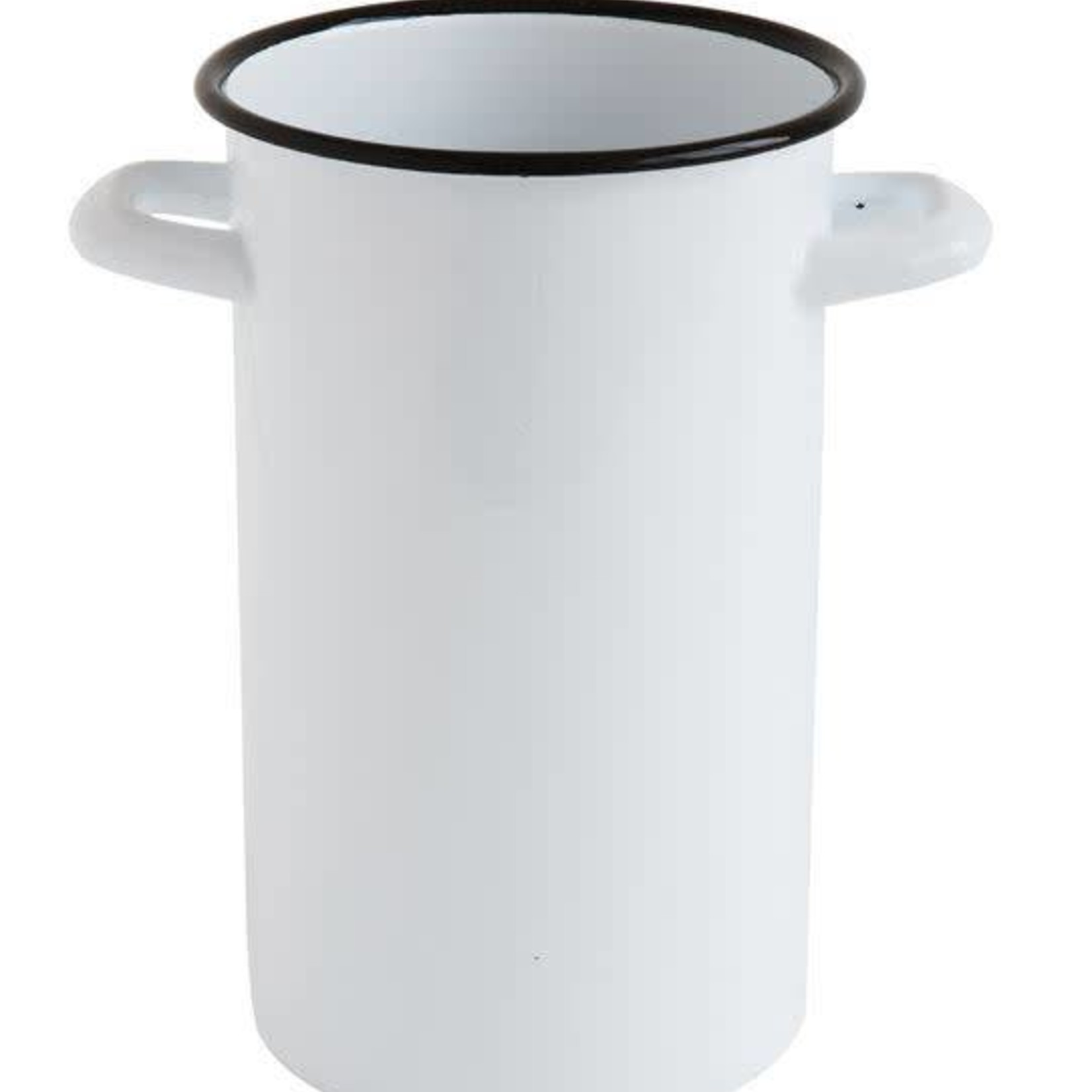 Enameled Container w/ Handles DA9192
