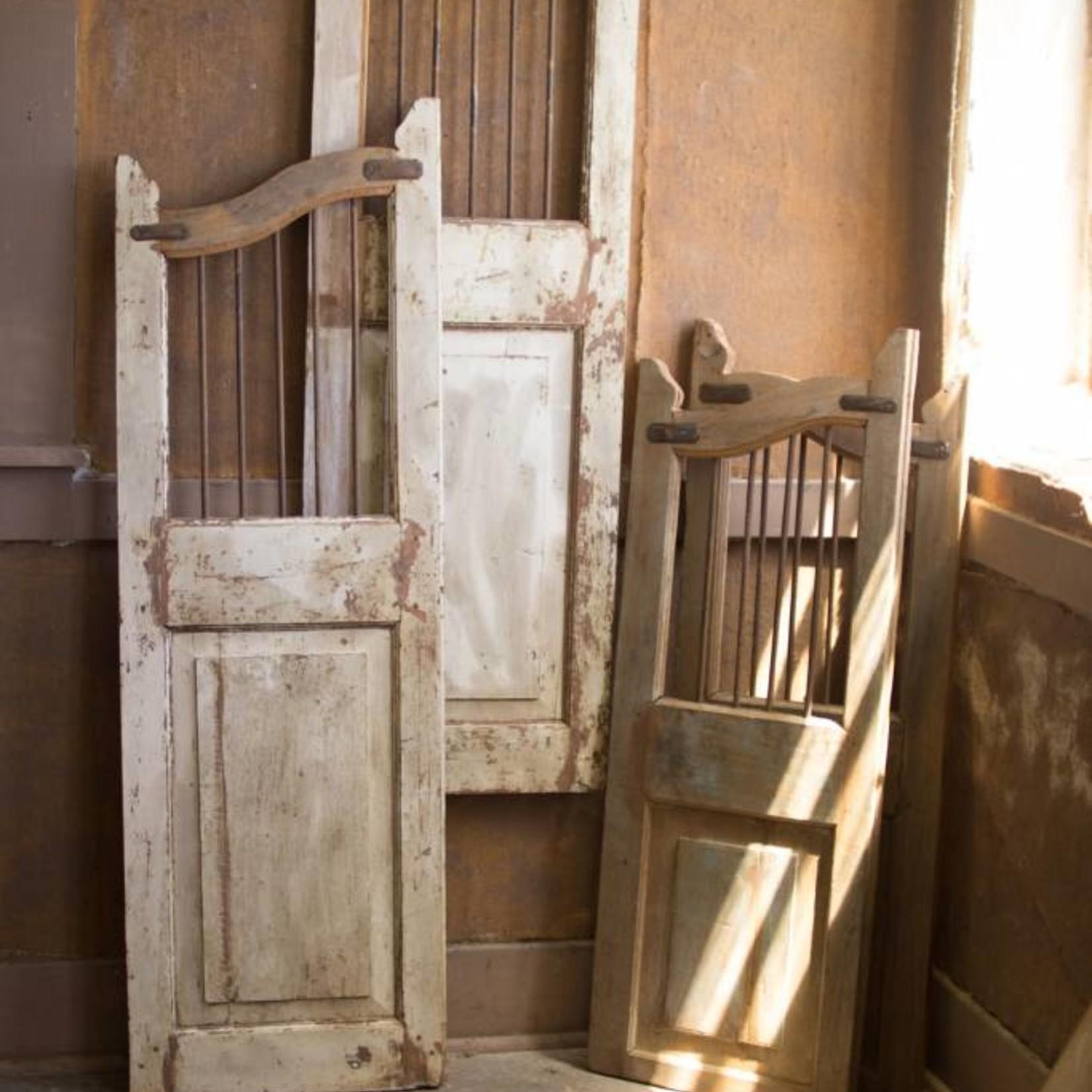 Set of Two Wood and Iron Saloon Doors NDA2284