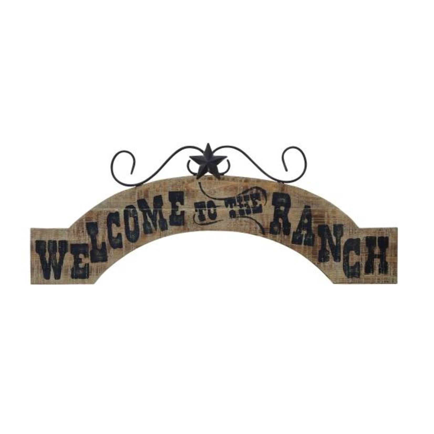 Welcome To The Ranch Wood Sign 54750
