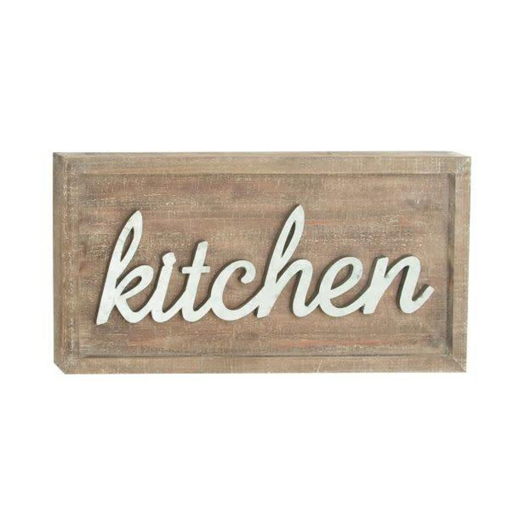 Kitchen Wood Sign 59476