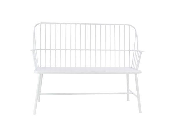 Superb Metal White Bench 86944 Spiritservingveterans Wood Chair Design Ideas Spiritservingveteransorg