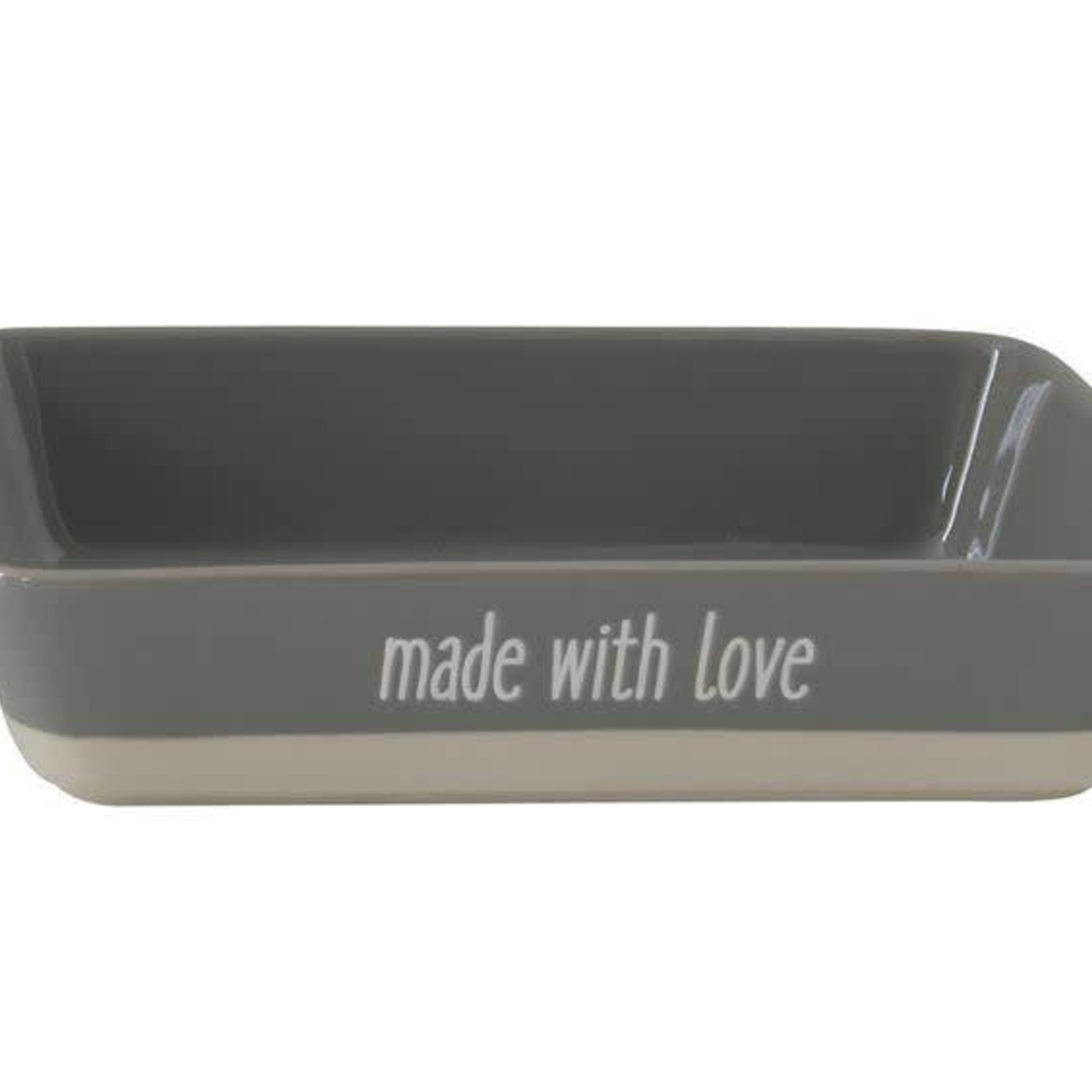 Made With Love Stoneware Baker DF1022