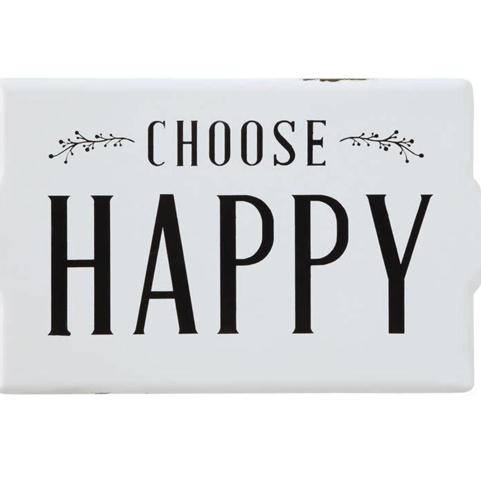 Choose Happy Metal Sign DF0052