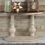 Alamosa Half Moon Sofa Table