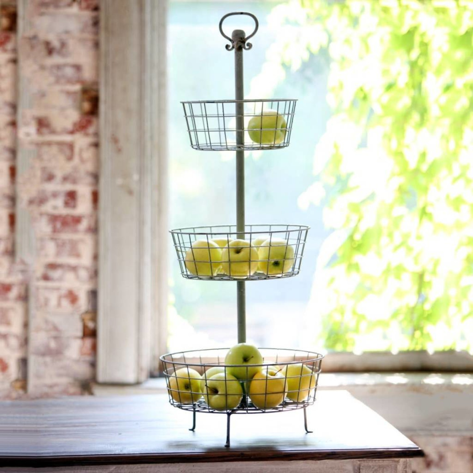 Three Tier Basket Display Stand LL6805