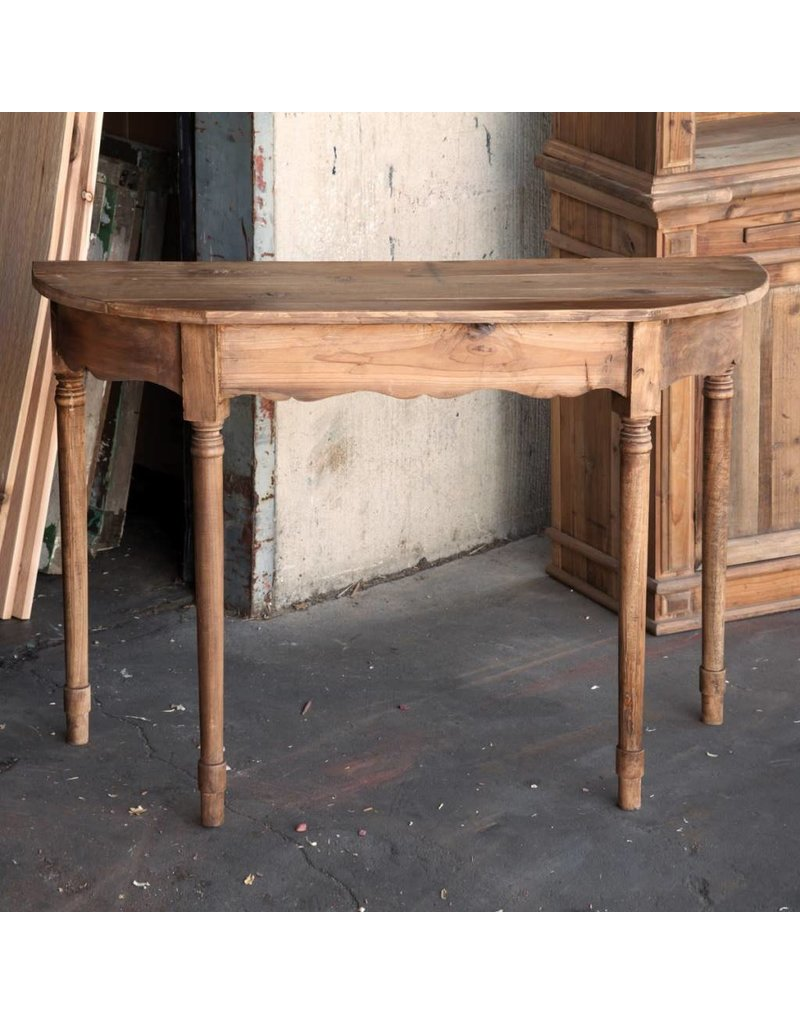 Old Pine Console Table