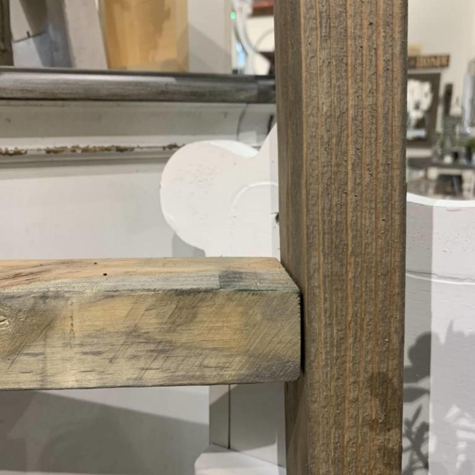 Grey Distressed Ladder