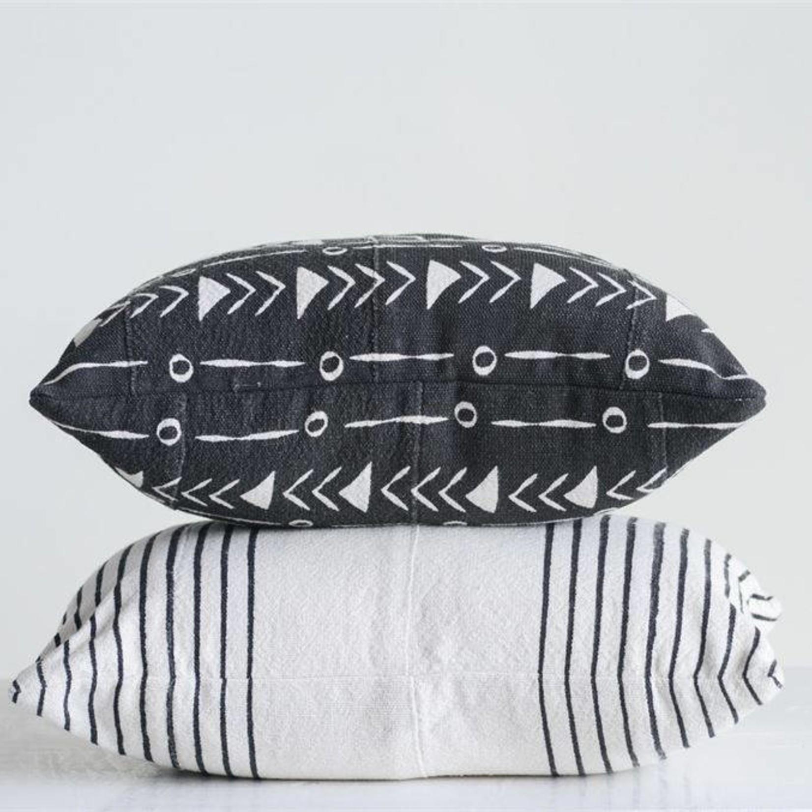 Mud Cloth Pattern Pillow - 2 Styles