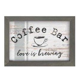 Coffee Bar Framed Sign LFR0058
