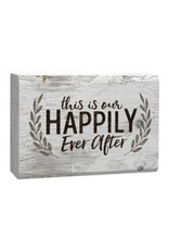 Happily Ever After Word Block WSS0177