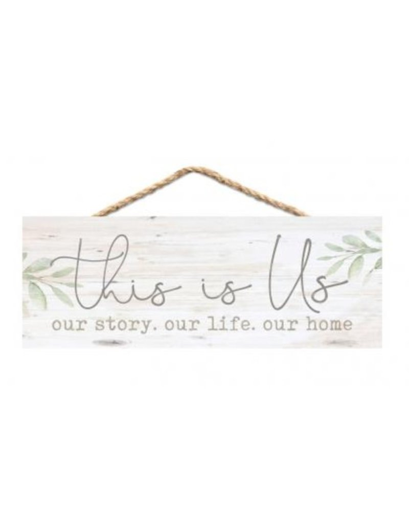 This Is Us Hanging Sign HPS0001