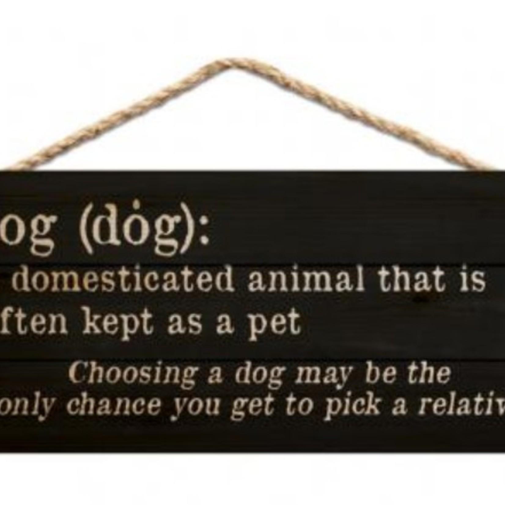 Dog Hanging Sign HSA0201