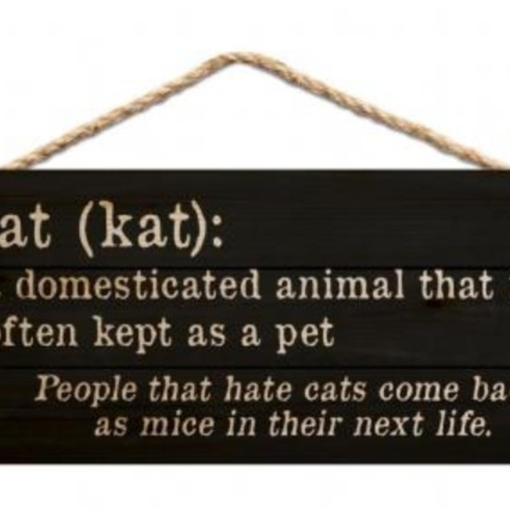 Cat Hanging Sign HSA0202
