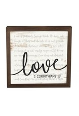 Love 1 Corinthians 13 Framed Art