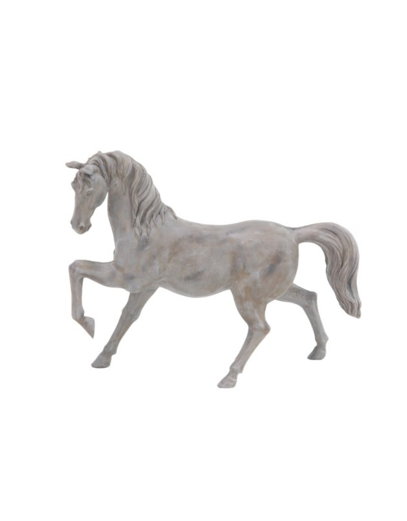 Distressed Gray Horse 38280