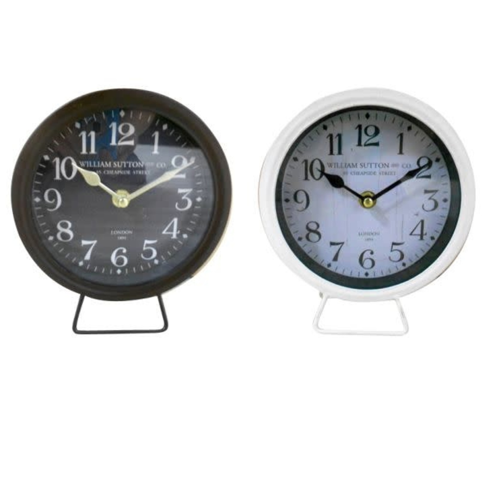 Small Table Clock - 2 Colors