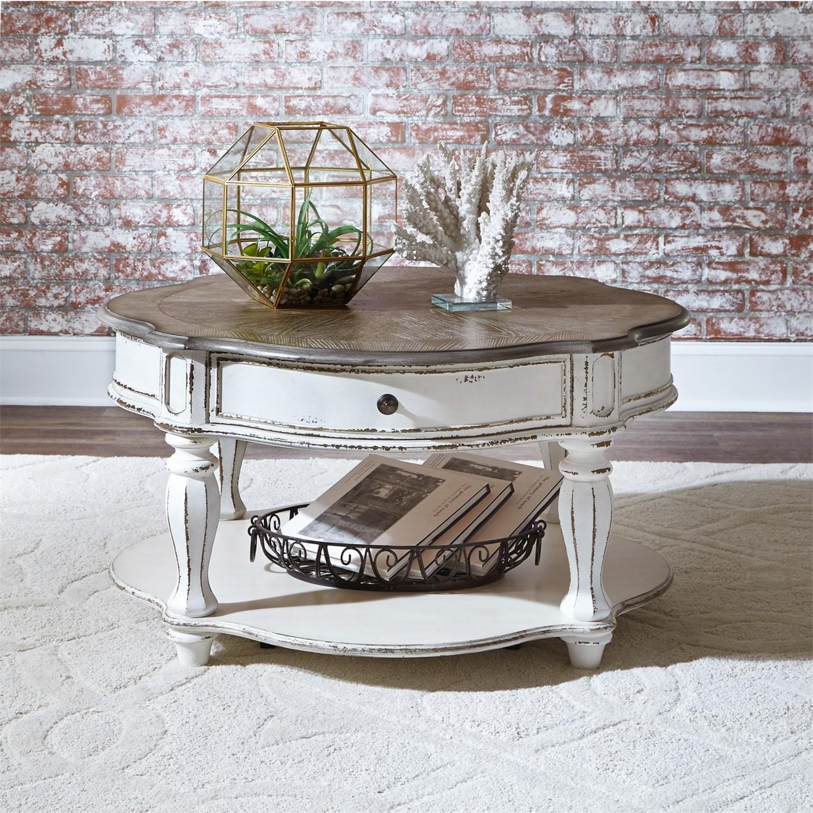 Magnolia Manor Round Coffee Table
