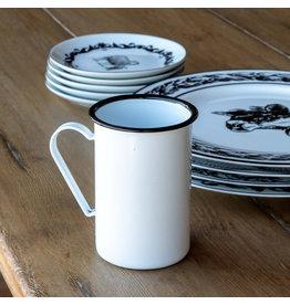 Farmhouse Enamelware Cafe Mug