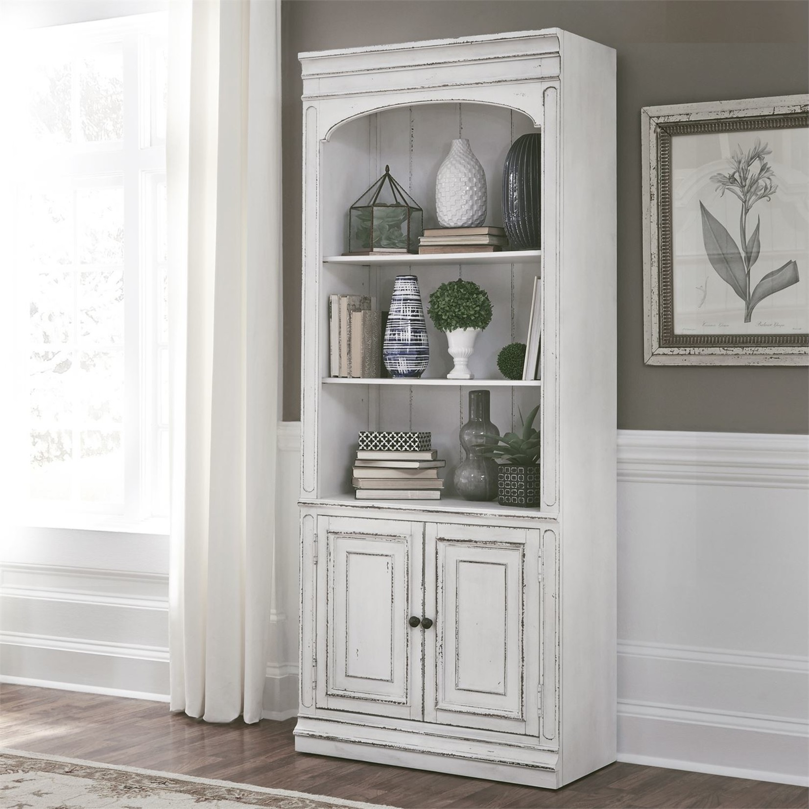 Magnolia Manor Bunching Bookcase