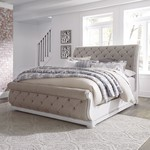 Magnolia Manor Upholstered Sleigh Bed